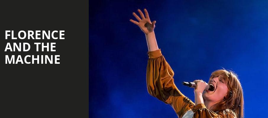 Florence and the Machine, Wells Fargo Center, Philadelphia
