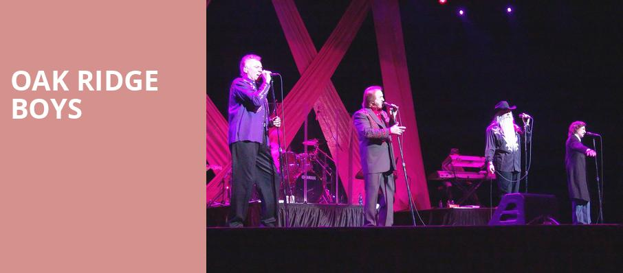 Oak Ridge Boys, Parx Casino and Racing, Philadelphia