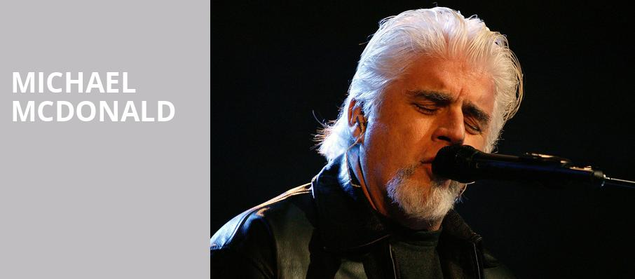 Michael McDonald, Merriam Theater, Philadelphia