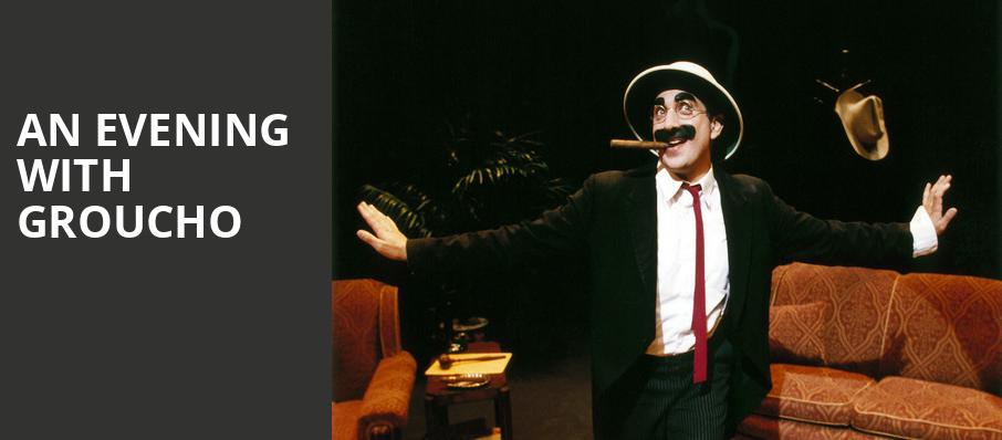An Evening With Groucho, Walnut Street Theatre, Philadelphia