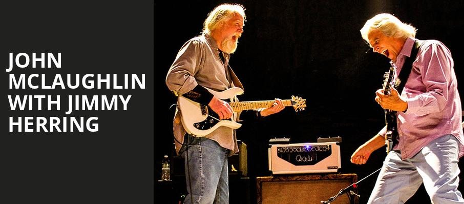 John McLaughlin with Jimmy Herring, Keswick Theater, Philadelphia