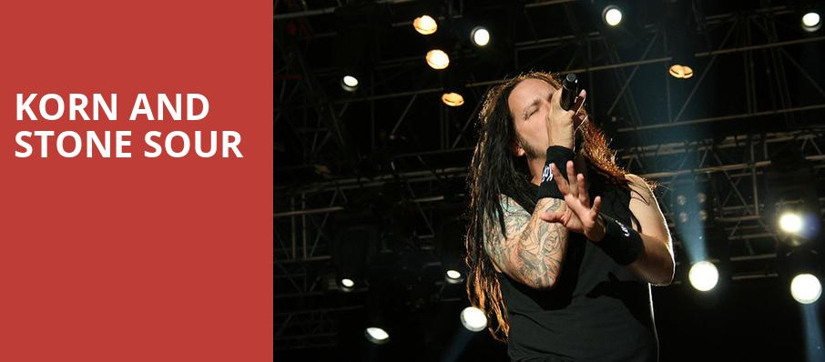 Korn and Stone Sour, BBT Pavilion, Philadelphia