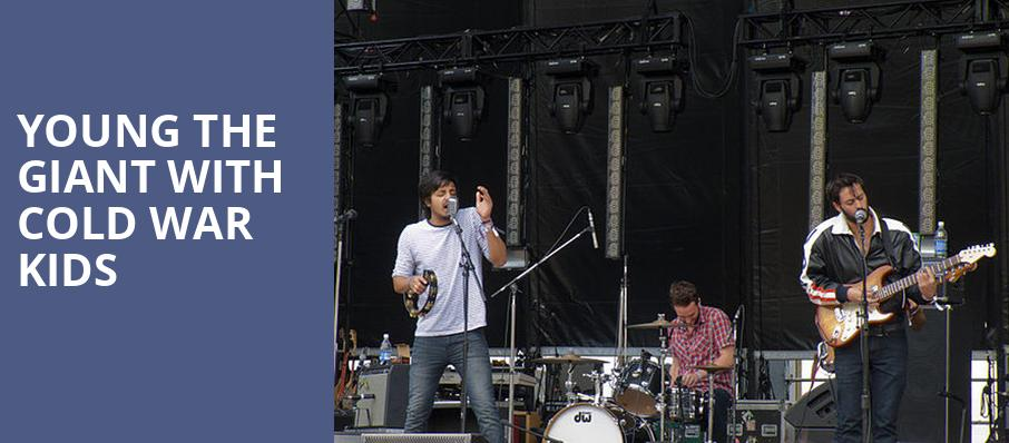 Young the Giant with Cold War Kids, Penns Landing Festival Pier, Philadelphia