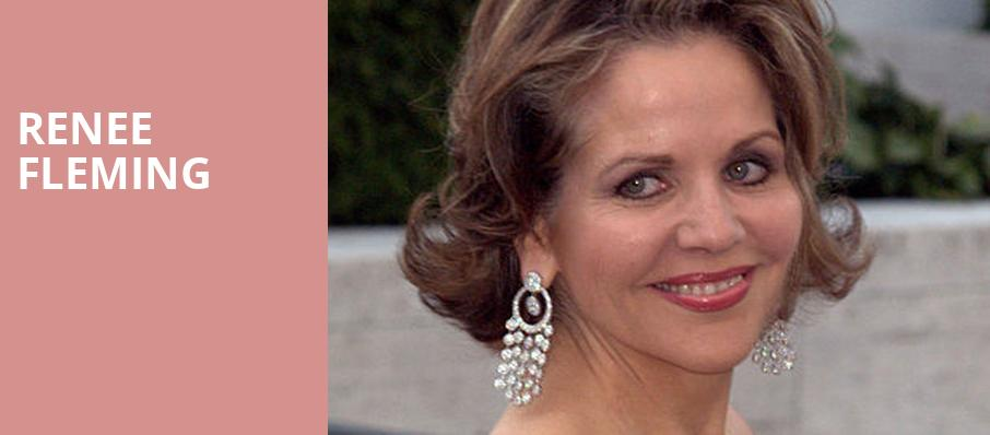 Renee Fleming, Merriam Theater, Philadelphia