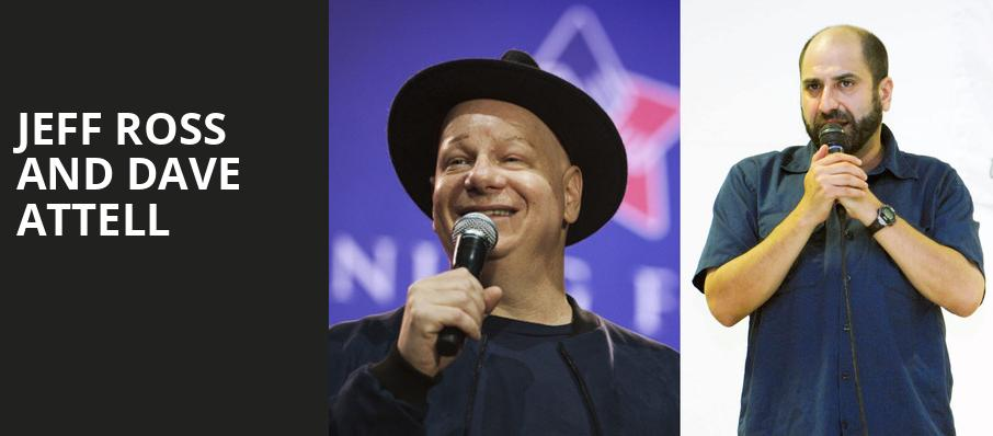 Jeff Ross and Dave Attell, Parx Casino and Racing, Philadelphia