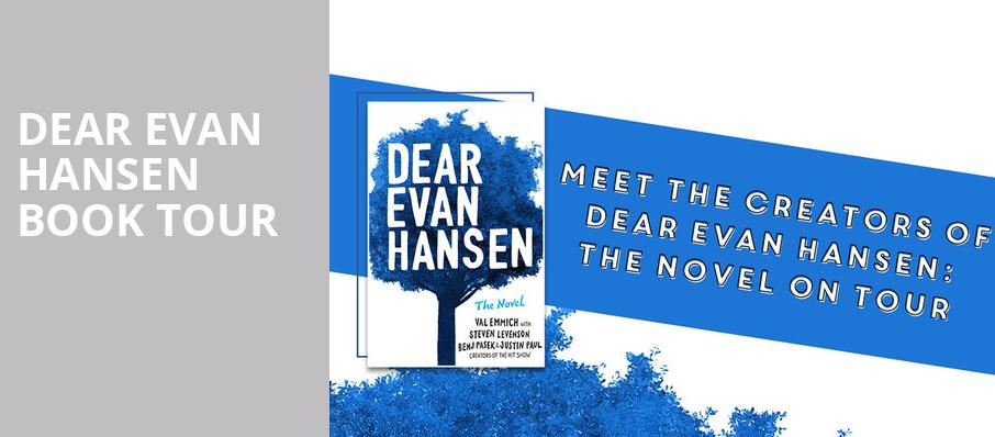 Dear Evan Hansen Book Tour, Montgomery Auditorium At Free Library of Philadelphia, Philadelphia