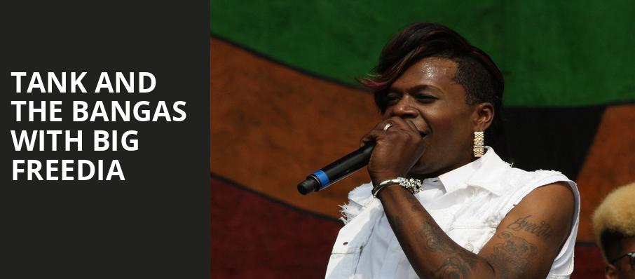 Tank and the Bangas with Big Freedia, Theatre Of The Living Arts, Philadelphia