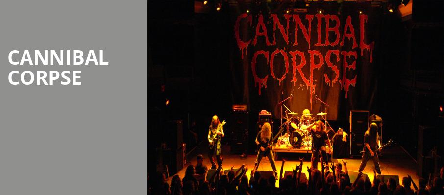 Cannibal Corpse, Theatre Of The Living Arts, Philadelphia