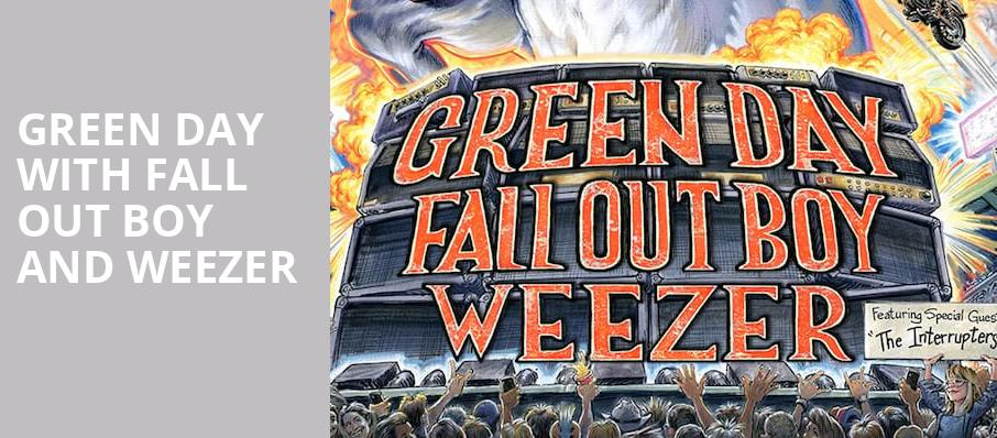 Green Day with Fall Out Boy and Weezer, Citizens Bank Park, Philadelphia