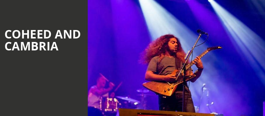 Coheed and Cambria, The Met Philadelphia, Philadelphia