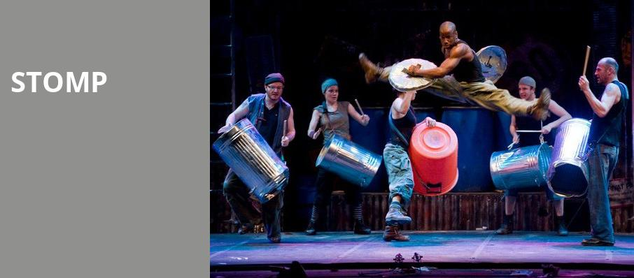 Stomp, Merriam Theater, Philadelphia