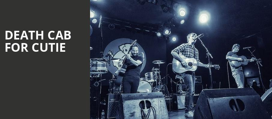 Death Cab For Cutie, Tower Theater, Philadelphia