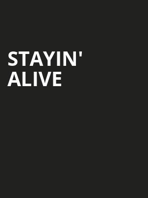 Stayin' Alive Poster