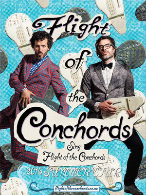 Flight of the Conchords, Mann Center For The Performing Arts, Philadelphia