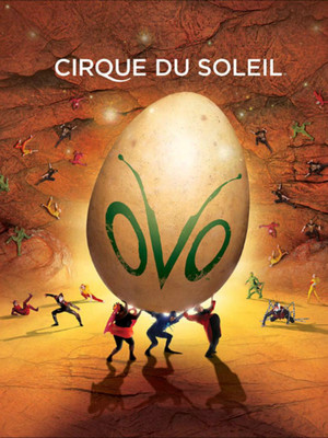 Cirque Du Soleil Ovo, Liacouras Center, Philadelphia