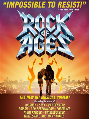 Rock of Ages at Merriam Theater