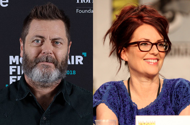 Nick Offerman Megan Mullally, Merriam Theater, Philadelphia