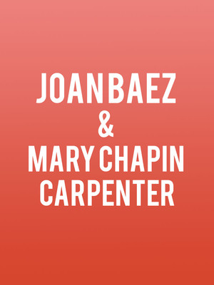 Joan Baez & Mary Chapin Carpenter Poster
