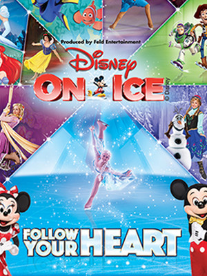 Disney on Ice Follow Your Heart, Wells Fargo Center, Philadelphia